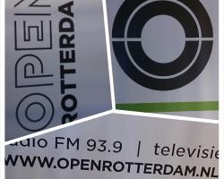 Ochtendshow op OPEN Rotterdam